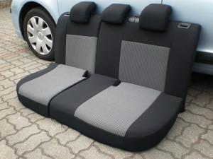 pokrowiec na tylną kanapę samochodu osobowego